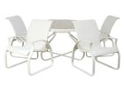 white chairs sets mid century patio furniture for sale