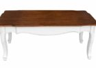 white distressed wood coffee table for sale