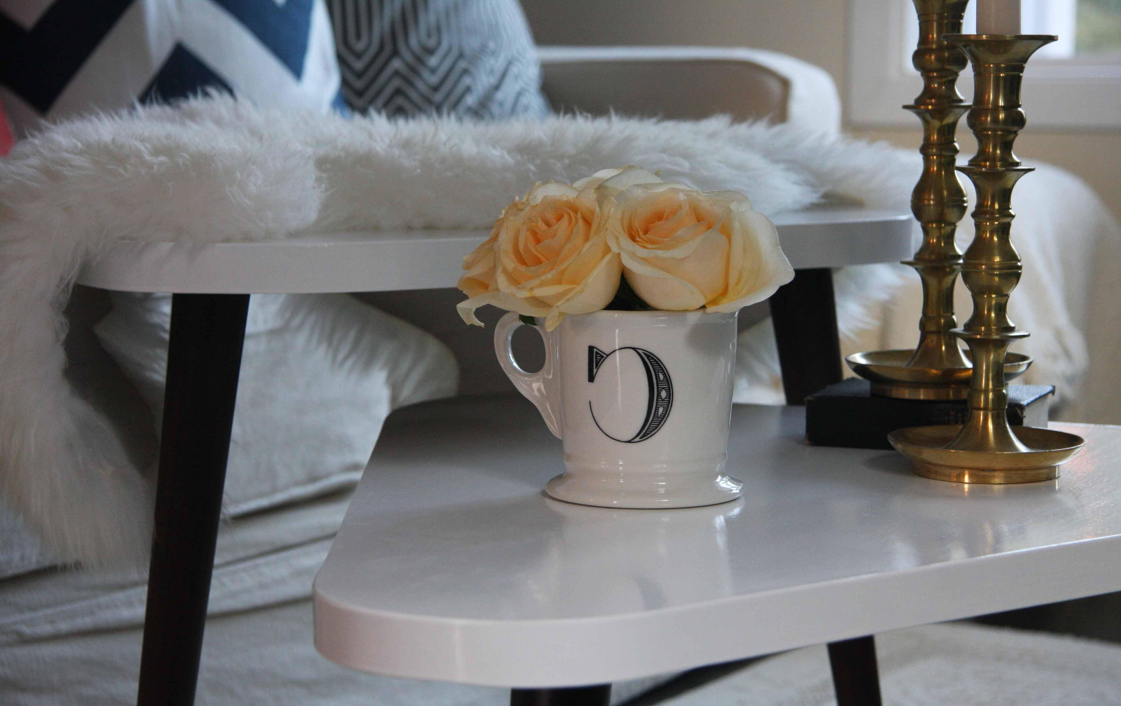 white mid century modern furniture seattle
