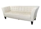white tufted macys leather chair