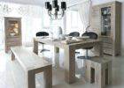 white wash dining room table furniture set
