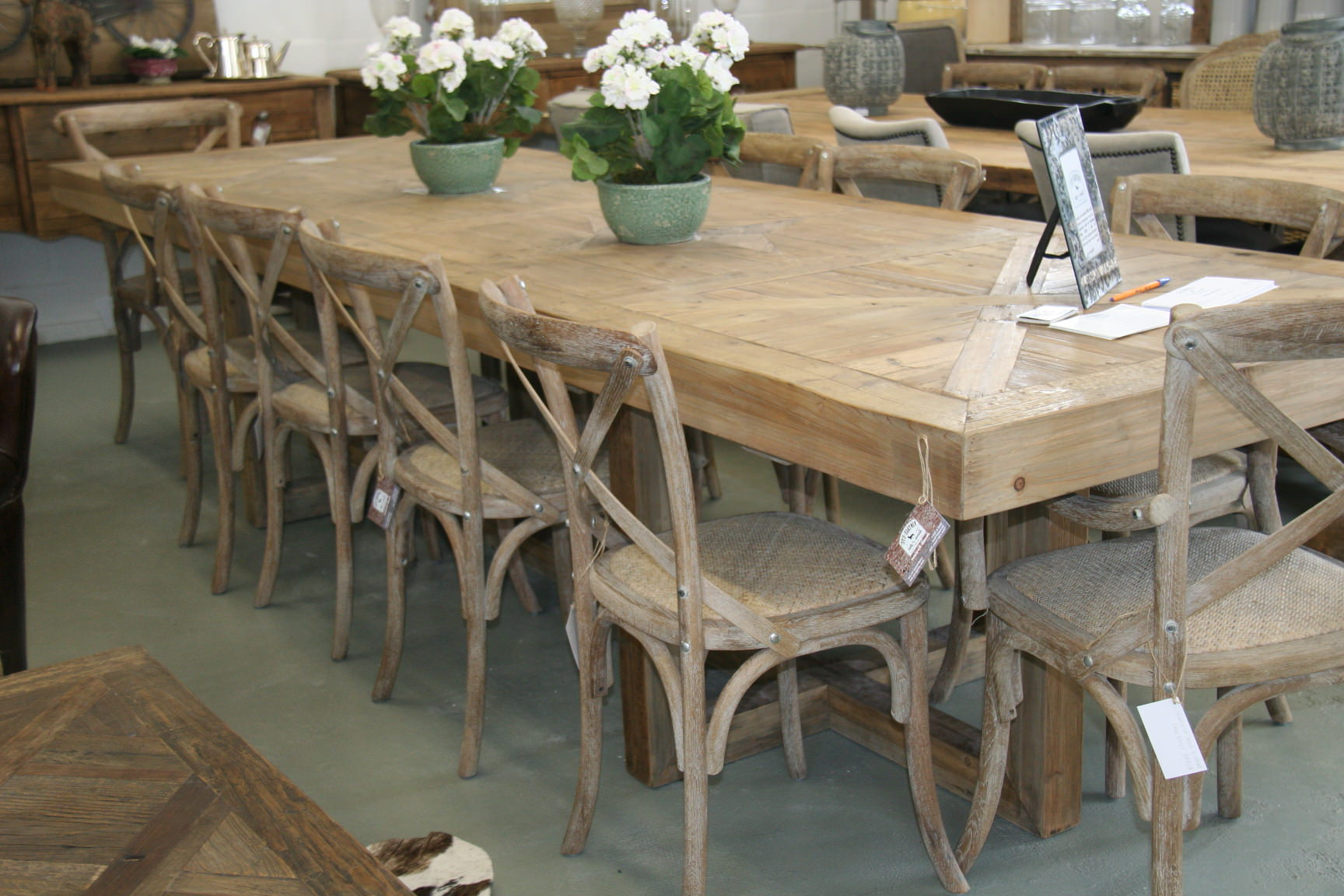 extra long dining table seats 12 furniture