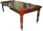 wood extra long dining table seats 12