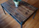 wood pallet coffee table for sale with storage
