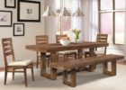 wooden rustic dining table centerpieces