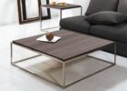 Awesome Square Dark Wood Coffee Table UK
