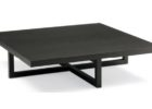 Cheap Large Square Dark Wood Coffee Table Furnitures