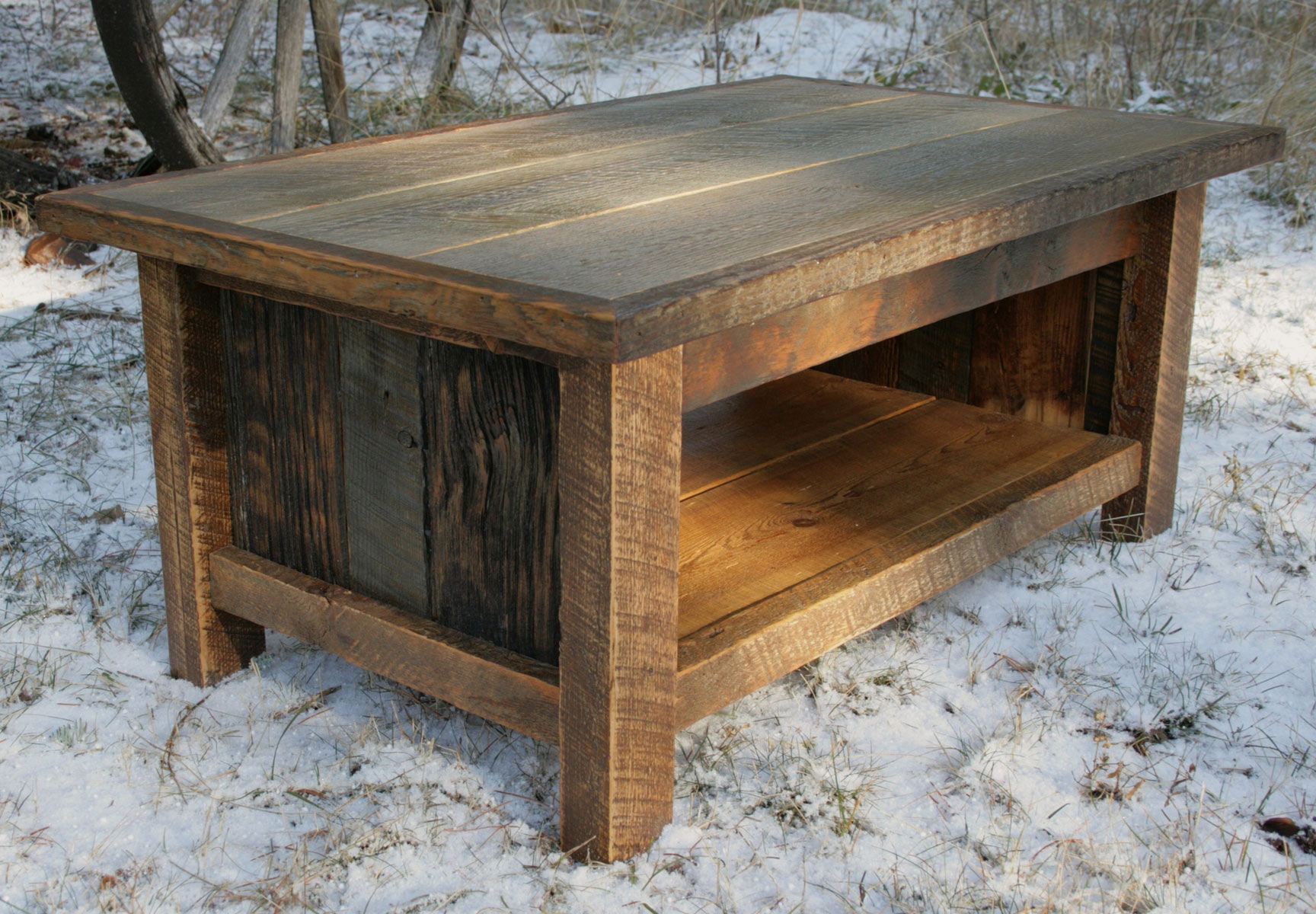 Cherry Wood Coffee Table With Glass Top Designs
