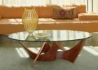 Cherry Wood Coffee Table With Glass Top Ideas