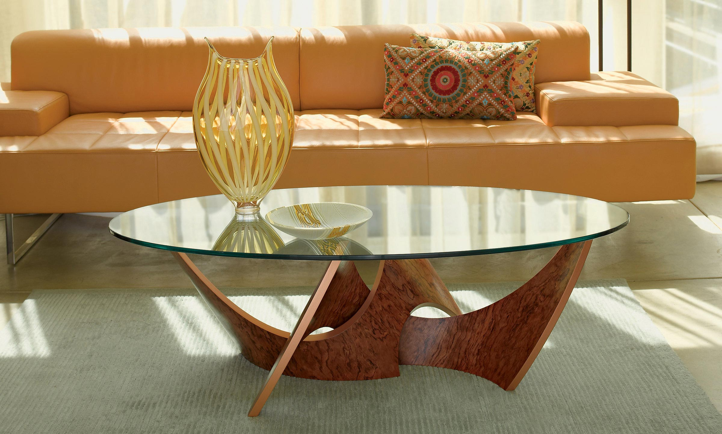Cherry Wood Coffee Table With Glass Top Ideas ...