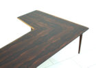 L shaped coffee table wood modern