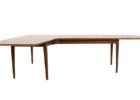 L shaped coffee table wood top ideas