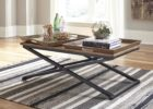 Metal Frame Coffee Table With Wood Top