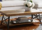 Metal Frame Coffee Table With Wood Top Ideas