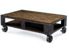 Metal Frame Coffee Table With Wood Top with Wheels Designs