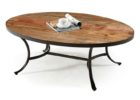 Oval Reclaimed Wood Coffee Tables For Sale