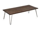 Reclaimed Wood Coffee Tables For Sale with Pin Legs