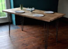 Reclaimed Wood Coffee Tables For Sale with Pin Legs Design