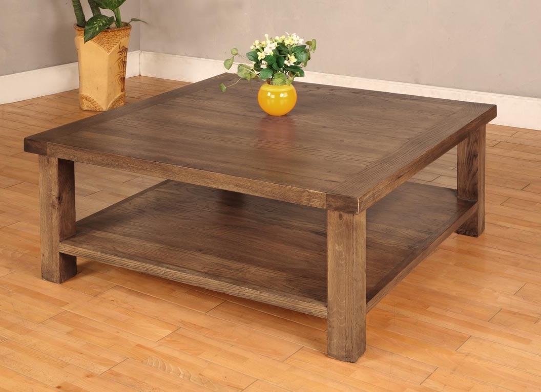 Reclaimed Wood Coffee Tables For Sale with Storages