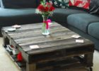Reclaimed Wood Large Square Dark Wood Coffee Table