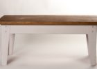 awesome distressed white wood coffee table