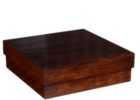 big square coffee table wood solid design