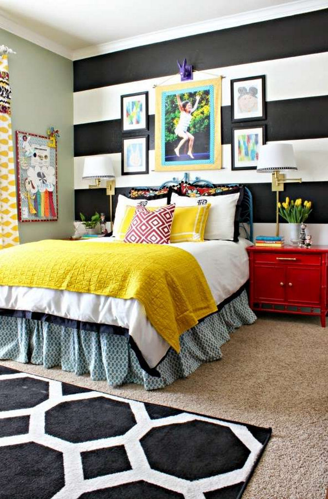 bold color combinations-color scheme ideas-best bedroom paint colors