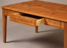 cheap solid wood coffee tables for sale with drawer