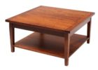 cheap square coffee table dark wood