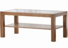 cheap wood coffee table with glass insert with storages