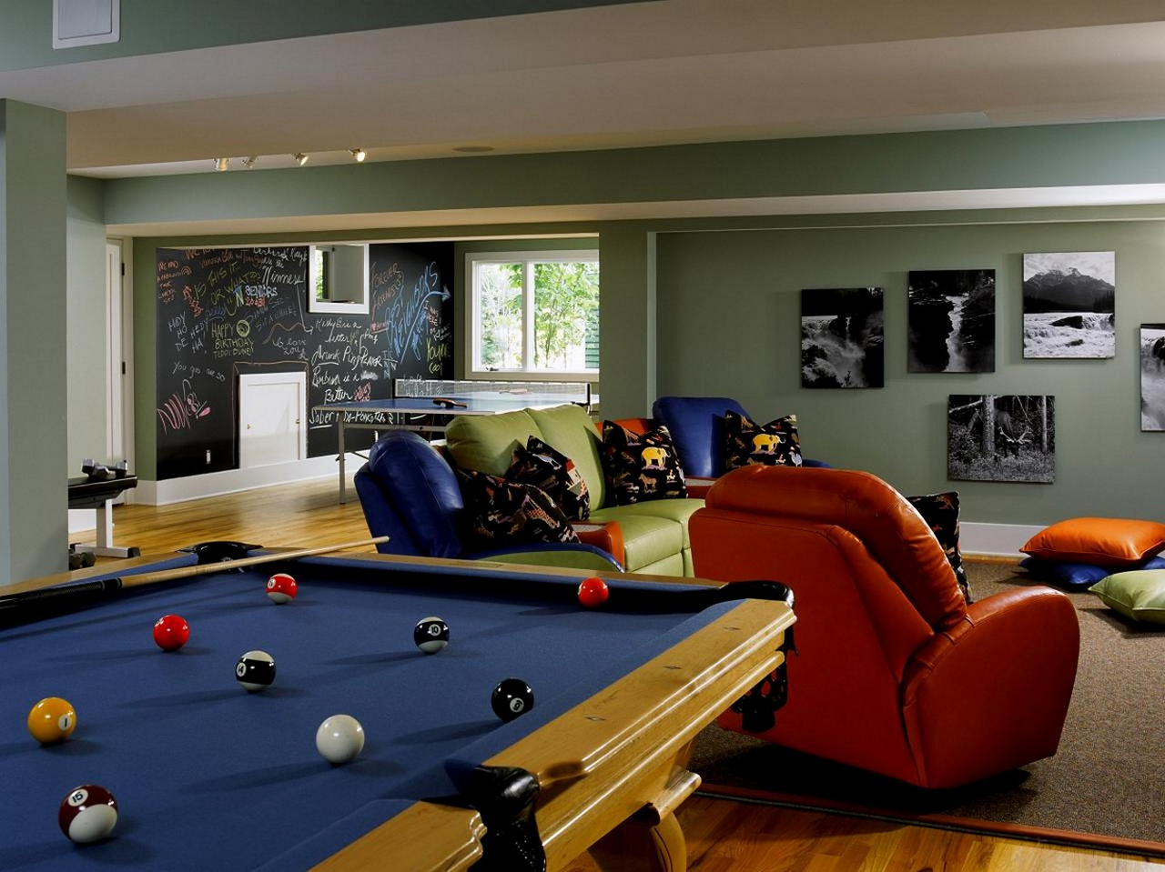 family room ideas-Family-Game-Room-Ideas-family room decorating ideas