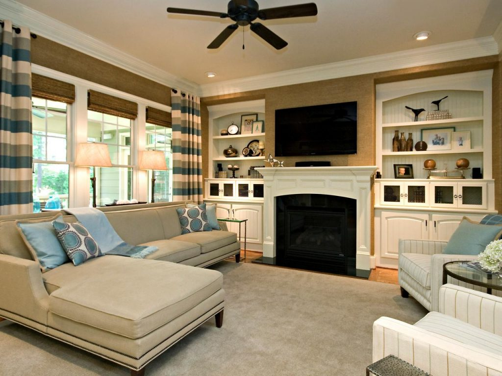 family room ideas-family room furniture ideas-clean-living-room