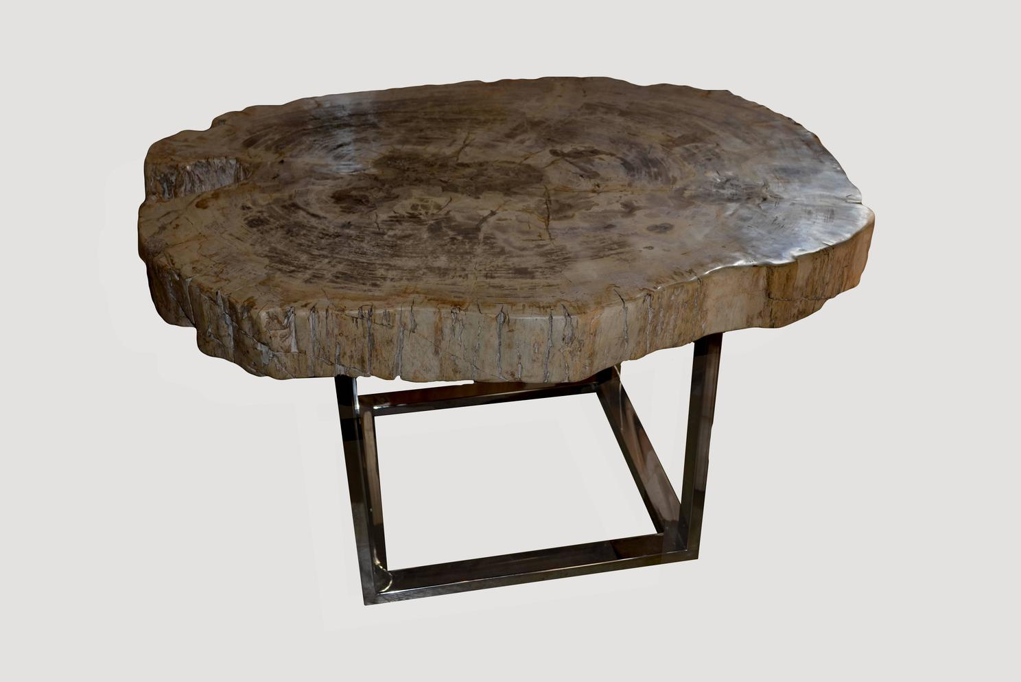 raw wood slab coffee table for sale