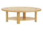 unfinished wood coffee table legs oval with storage