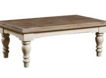 unfinished wood coffee table legs white