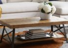 unfinished wood coffee table legs with storage designs