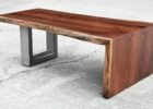 wood coffee table base only for log wood tops