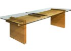 wood coffee table base only glass tops