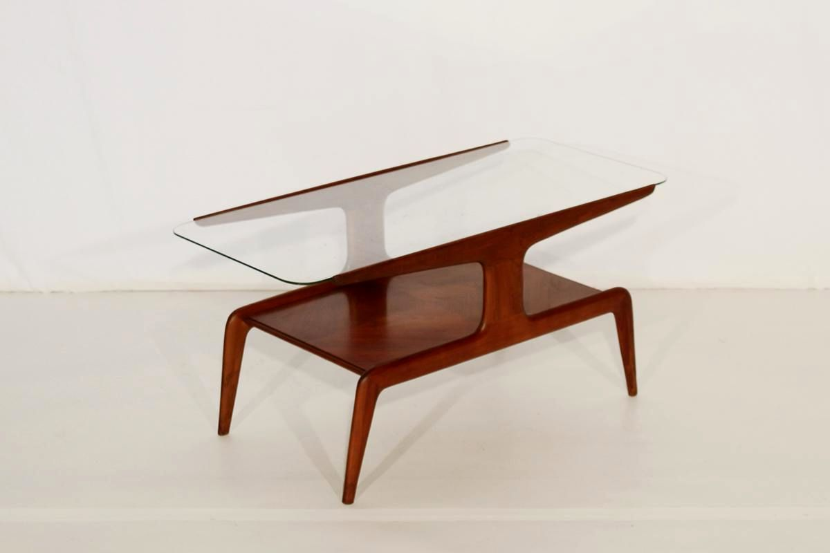 wood coffee table with glass insert contemporary