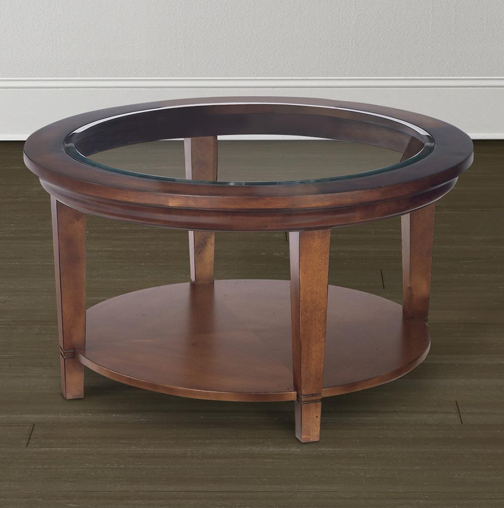 wood coffee table with glass insert round with storage ideas