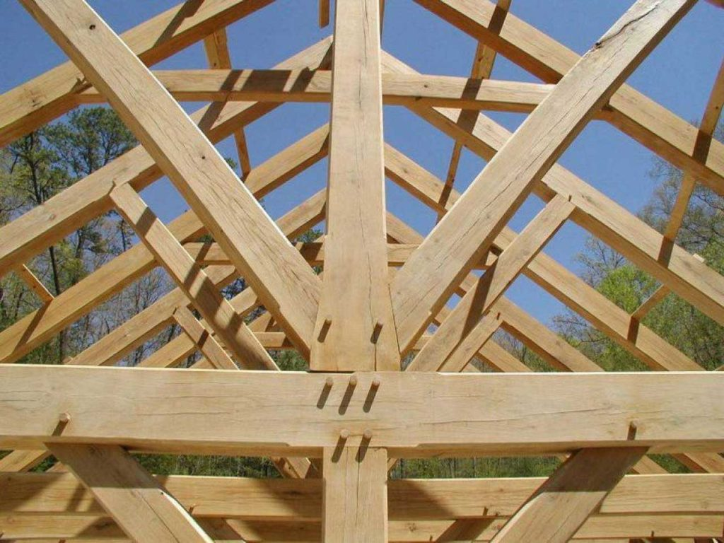 Wooden Roof Frame Construction and Calculate its Cost | Raysa House