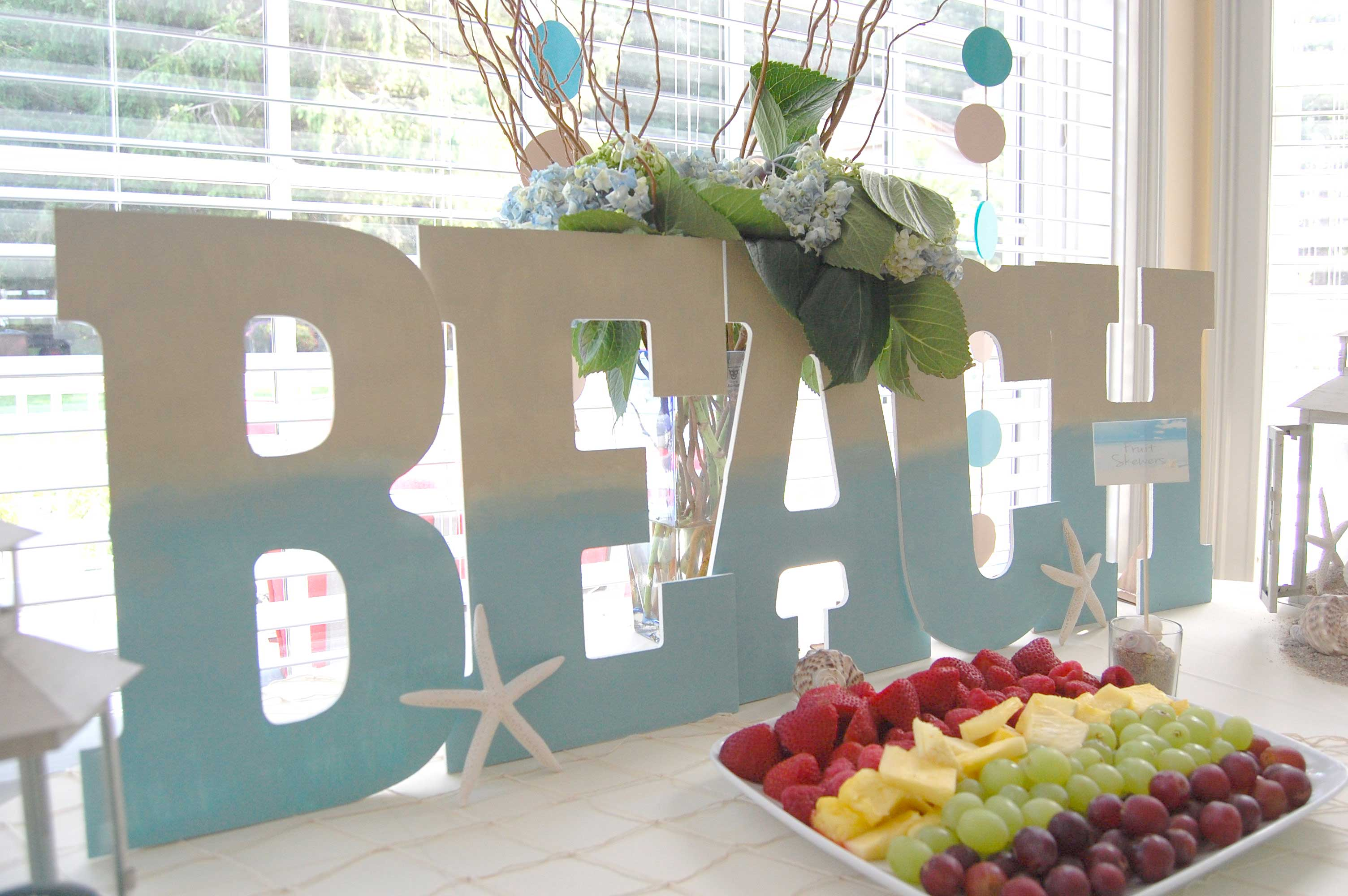 Beach Theme Decor-beach theme party ideas