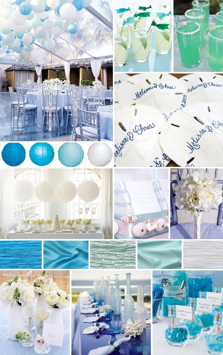 Beach Theme Decor-green-beach-wedding-themes