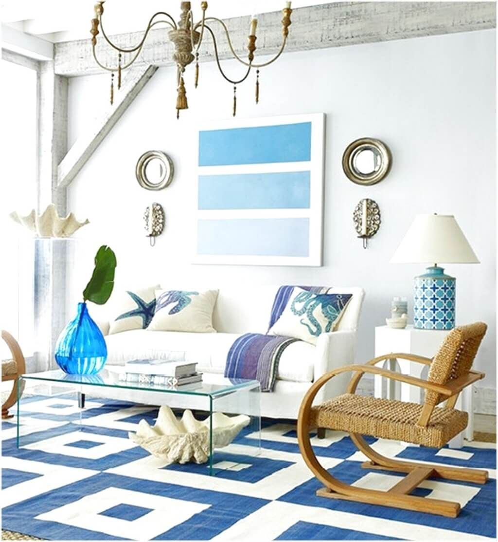 Beach Theme Decor-traditional-beach-themed-living-room-design-featuring-seagrass-chair-beach-theme-decor-for-living-room