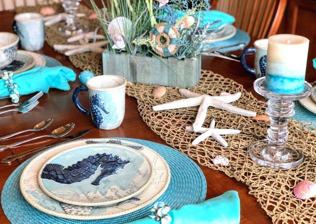 Beach Themed Party Decorations-beach-themed-dishes-coastal-table-decor-coastal-table-coastal-decorations-cracker-barrel-coastal-dinnerware-coastal-beach-party-food-menu