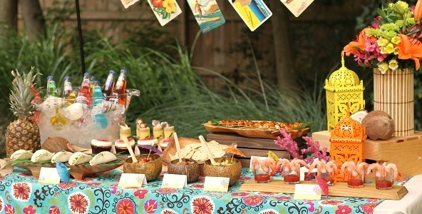 Beach Themed Party Decorations dinner party ideas