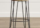 Crate And Barrel Bar Stools Round Wooden Ebay