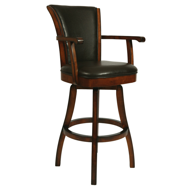 Crate And Barrel Bar Stools With Cushions and Backs