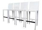 Crate And Barrel Bar Stools Wooden White