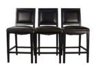Crate And Barrel Bar Stools with Backs